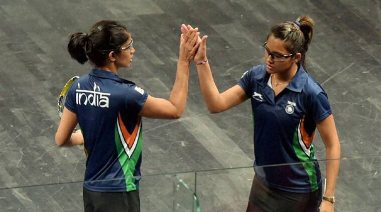 World number 16 Pallikal showed promise against third-ranked Raneem El Welily of Egypt before going down 11-7 5-11 3-11 6-11 in 50 minutes in a match. (Source: PTI)