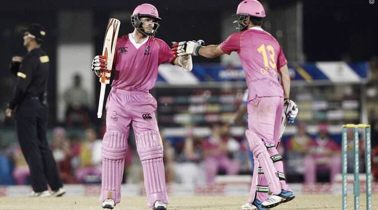 Kane Willaimson and Devcich provided the platform to chased down Mumbai's 132 by adding 83 runs for the first wicket. (Source: BCCI)