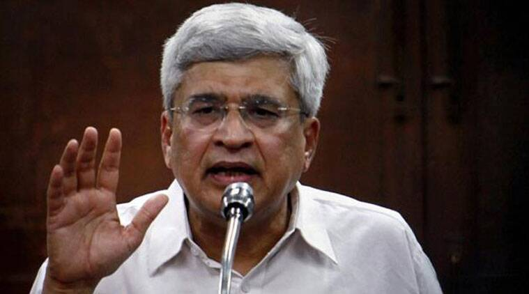 CPI(M) general secretary Prakash Karat on Wednesday asked party members and supporters to vote for the AAP in the 55 seats. (Source: PTI photo)