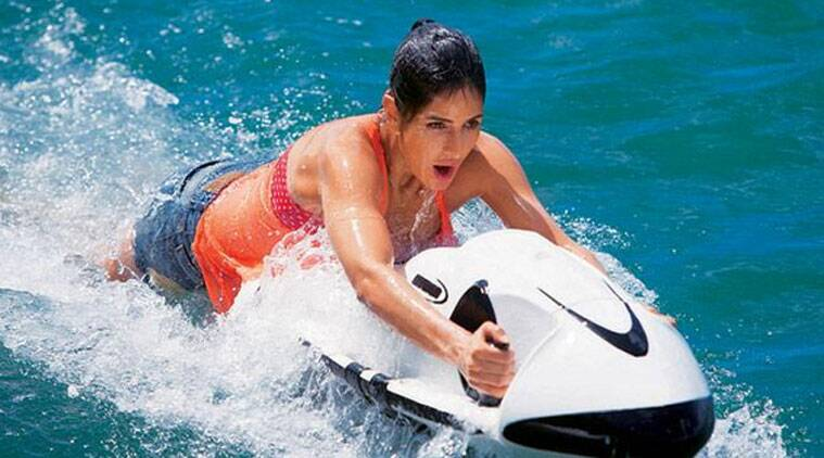Image result for katrina kaif bang bang jet ski