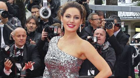Glamour model Kelly Brook says she punched her former boyfriend Danny Cipriani when he gave a stripper his phone number.  (Source: Reuters)
