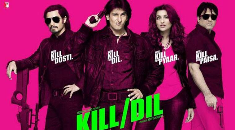 'Kill Dil's first official trailer was unveiled today - with quirky-catchy dialogues and a peppy background music.