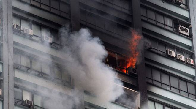 Major fire in Kolkata's Chatterjee International building