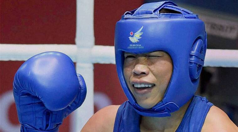 Mary Kom was the clear winner in her bout and will bring India at least a silver medal as she is trough to the final. (Source: PTI)