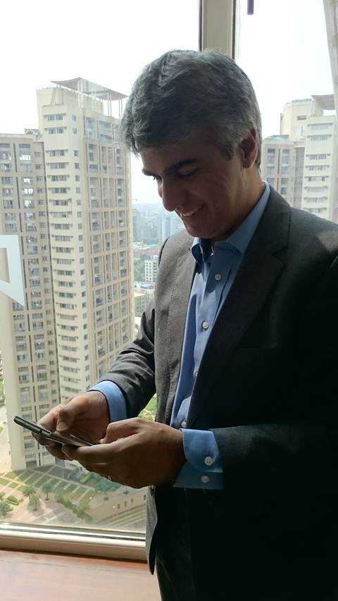 Sunil Lalvani says there is no longer an issue with lack of apps (Source: Nandagopal Rajan)