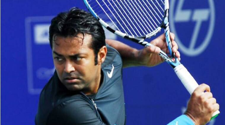 Leander Paes agreed to play in the Davis Cup after being persuaded by Bopanna and then by Amritraj. (Source; PTI)