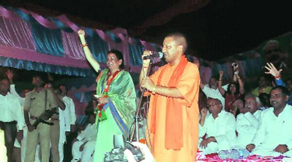BJP's star campaigner Yogi Adityanath allegedly sought votes in the name of religion
