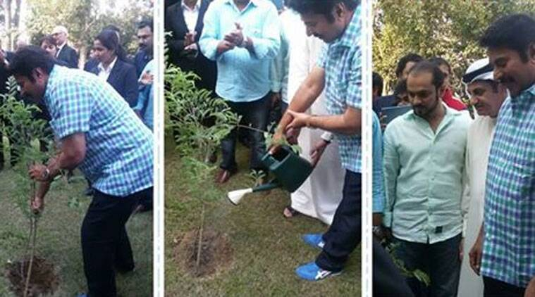 Malayalam superstar Mammooty launched the 'My Tree Challenge'.