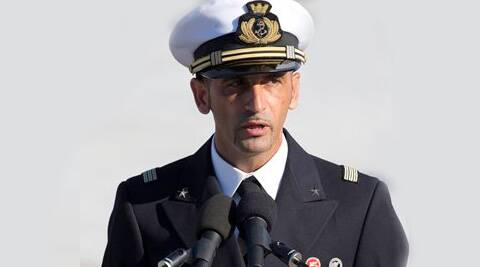 Latorre (in photo) and Salvatore Girone have been detained since 2012 pending an investigation into the killing of two Indian fishermen. (Source: AP)