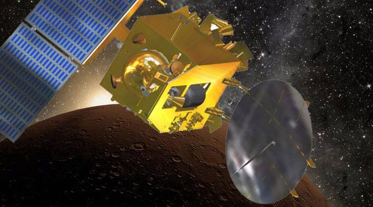 Scientists described the Mars Orbiter Mission, affectionately nicknamed MOM, as flawless. (Source: ISRO) - See more at: https://indianexpress.com/article/india/india-others/india-succeeds-putting-spacecraft-in-martian-orbit/99/#sthash.1rlWlIzY.dpuf