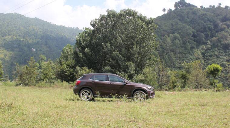 The Mercedes-Benz GLA-Class competes against the likes of the Audi Q3 and BMW X1 in the Indian automobile market.