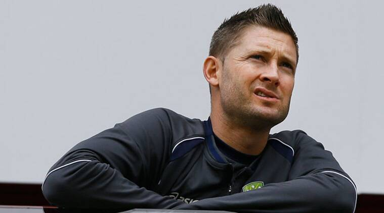 Michael Clarke flew home from Zimbabwe recently after aggravating his left hamstring injury during the ODI tri-series (Source: AP)