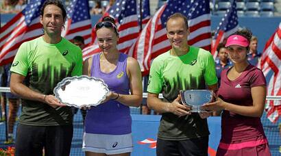 US Open: Sania Mirza-Bruno Soares pair crowned as mixed doubles champions