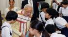 Modi in Japan, Day 3: PM visits school, seeks help in Japanese language teaching