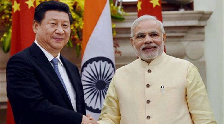 Chinese President visited Ahmedabad where Modi had unrolled a grand welcome for him. (Source: PTI)