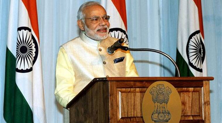 Obama hosted Modi for dinner, the local Indian- Americans celebrated the Modi-Obama meeting by organizing a cultural event. (Source: PTI)