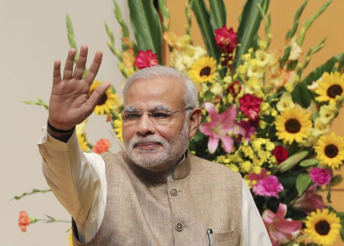 Prime Minister Narendra Modi who is currently on a 5-day tour to Japan delivered a lecture at the University of the Sacred Heart in Tokyo, on Tuesday (September 2). (Source: AP Photo)