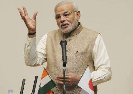 Narendra Modi addresses university students in Tokyo