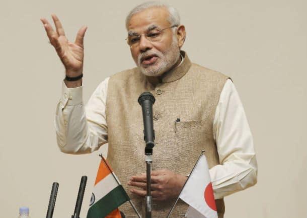 Narendra Modi addresses university students in Tokyo