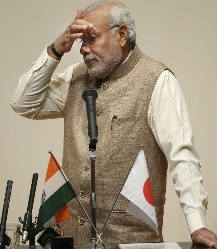 On Monday, the PM sought to take the bilateral ties between India and Japan to a new level. (Source: AP Photo)