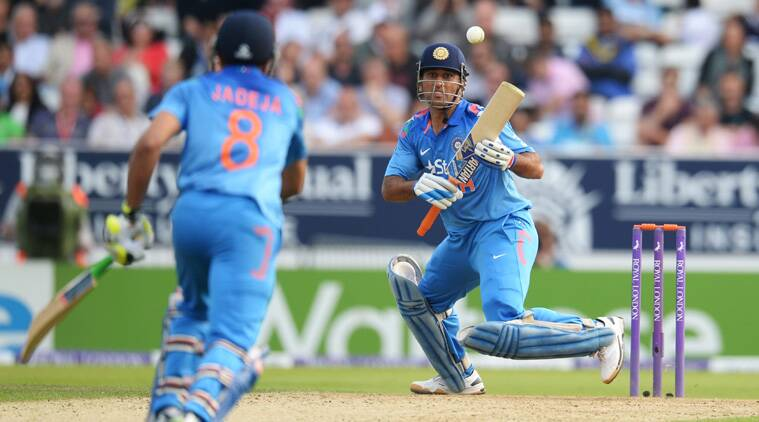 Chasing a stiff total, India lost early wickets. The first one in the very first over of the chase(Source: Reuters)