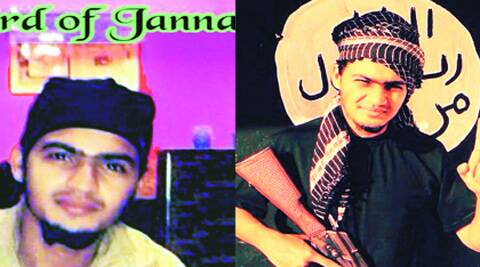 On 'wife' Tahira's FB profile are these photos of Areeb Majeed. (Source: Express photo)
