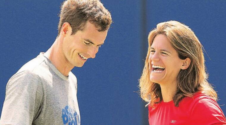 Murray is the only player in the top 40 who is listed as being coached by a woman.