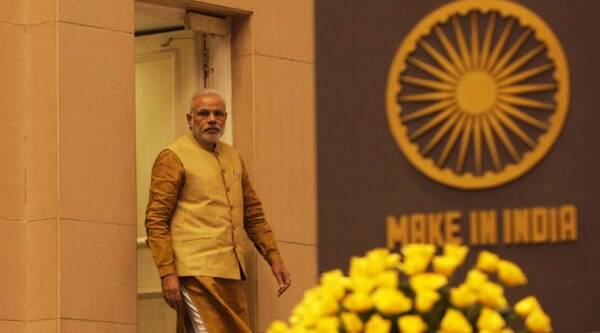 """An editorial says that Modi, in his first Independence Day speech, had spoken about making India an industrial hub. In the US, he spoke repeatedly of """"Make in India""""."""