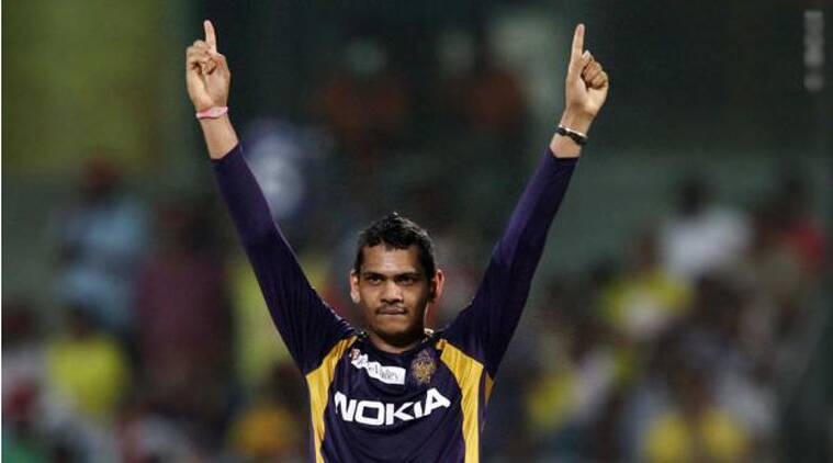 Narine is run miser and puts pressure on opposition batsman when he is not picking wickets. (Source: BCCI)