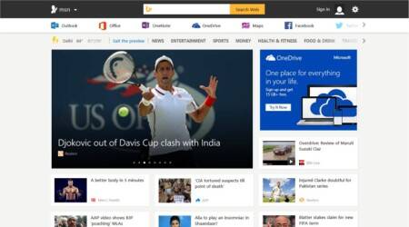 Microsoft launches new MSN in India