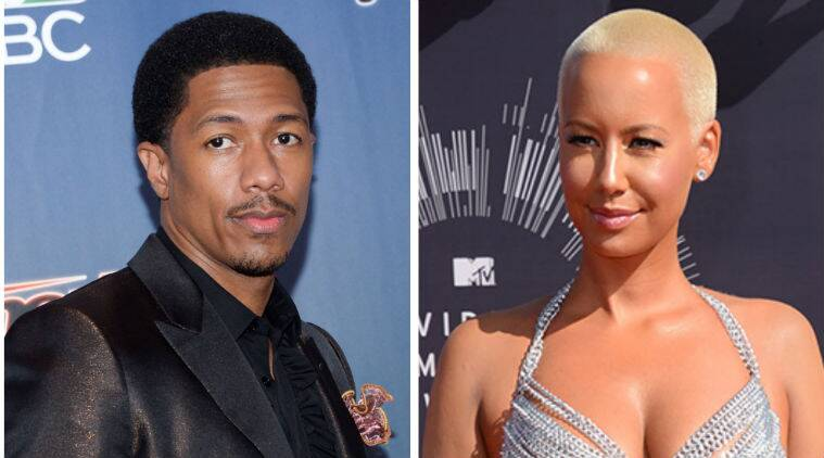 Nick Cannon and Amber Rose were previously spotted hanging out together during a taping of BET's 106 and Park TV show in New York. (Source: AP)