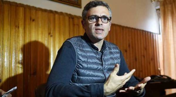 Jammu and Kashmir Chief Minister Omar Abdullah addresses a press confrence in Srinagar on Friday, Sept 12, 2014. (Source: PTI Photo)