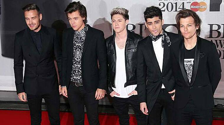 One Direction thinks there is a high quality of music up for the Grammy prizes. (Source: AP)
