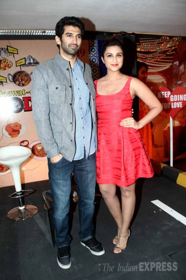 On a food yatra with  Aditya, Parineeti and their 'Daawat-e-Ishq'