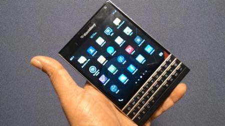BlackBerry gets its Passport to redemption; launches in India at Rs 49,990