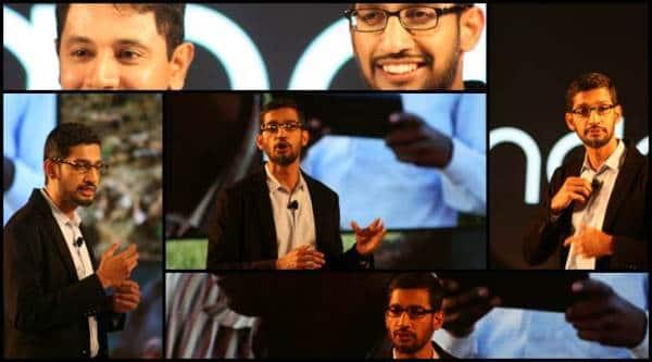 Sundar Pichai, Google senior vice president for Android, Chrome and Apps (Source: Nandagopal Rajan)