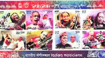 India Post releases eight stamps on musicmaestros