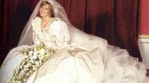 Princess Diana's wedding gown to be given to sons Prince William and Harry