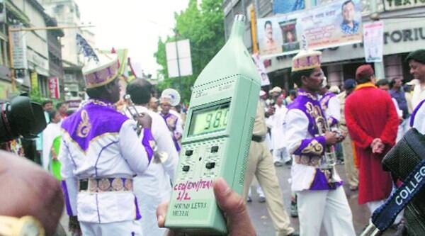 College of Engineering Pune, students monitored noise levels and registered musical instruments like dhol crossed permissible limits. Average noise level was 96.3 dB