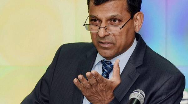 RBI governor Raghuram Rajan says he is not 'overly' worried about any interest rate hike by US Fed as India has enough forex reserves. (PTI)