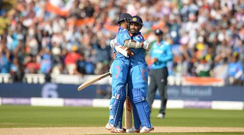 Shikhar Dhawan and Ajinkya Rahane shared a 183-run stand for the opening wicket (Source: Reuters)