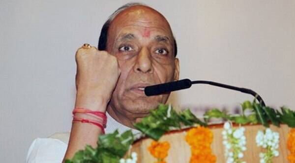 Union Home Minister Rajnath Singh. (Source: PTI Photo)