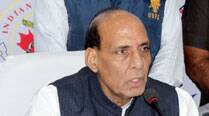 Won't go easy on Naxals, saysRajnath