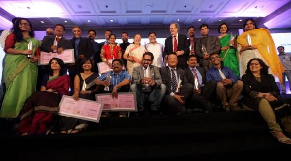 Winners of Ramnath Goenka Excellence in Journalism Awards. (Source: Neeraj Priyadarshi)