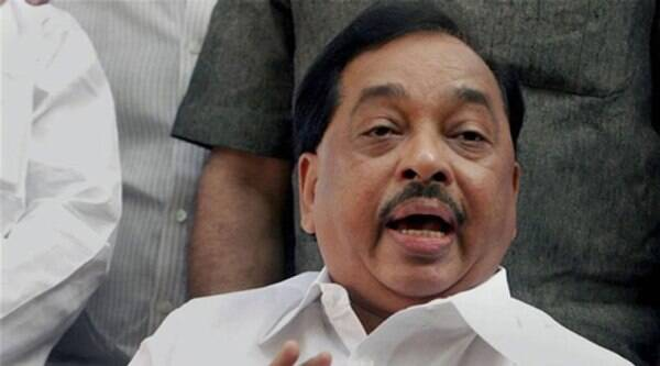 Narayan Rane visited BJP MLA Laxman Jagtap at his residence.