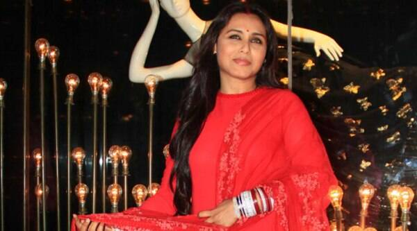 Enlisting more women in police to work exclusively to eliminate sex trafficking can help bring down the crime in India, says actress Rani Mukerji.  (source: Varinder Chawla)