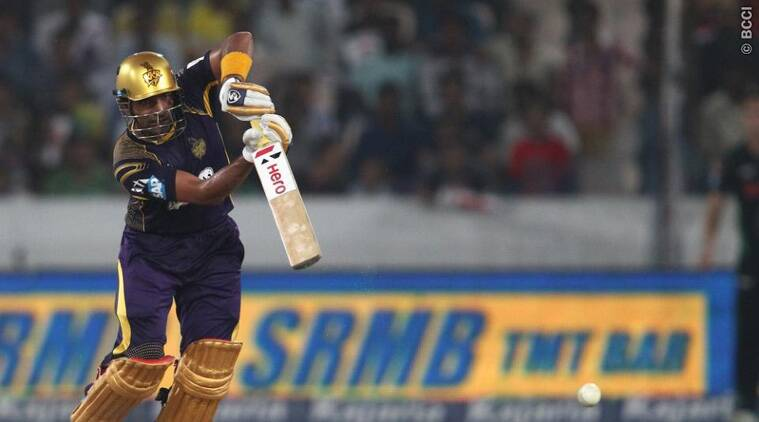 Robin Uthappa, who hit a superb unbeaten knock of 85, was pleased with his performance (Source: BCCI)