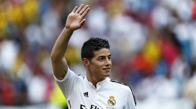 Rodriguez's performances in Brazil earned him a move to Real Madrid. (Source: AP)