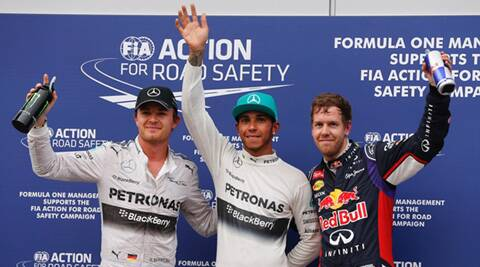Lewis Hamilton's retirement left him 29 points behind Nico Rosberg in the championship race (Source: AP)
