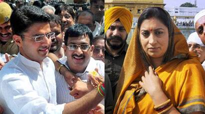 Today in Pics: By-Poll results, Smriti Irani at Golden Temple